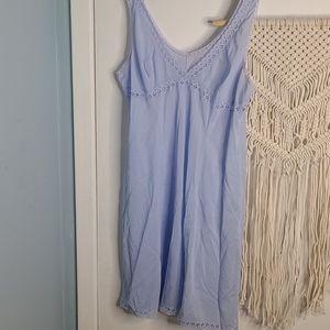 Vintage powder blue slip dress